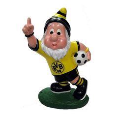 Gartenzwerg Torjubel Borussia Dortmund - http://www.multifanshop.de