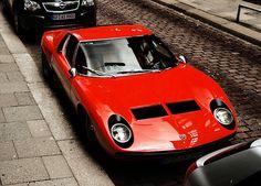 Lamborghini Miura. I could stare at this car all day long.