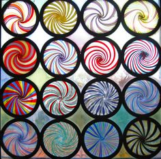 Beautiful, colorful glass swirls in Murano, Italy - so disappointed that I didn't go here!