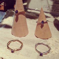 Frozen Jewelry (凍った宝石) Tanzanit|指輪|ハンドメイド・手仕事品の販売・購入 Creema(クリーマ)