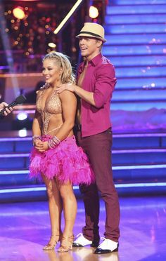 Dancing with the Stars: All-Stars Week 4 Shawn Johnson and Derek Hough.  They came so close to the win.  Congratulations to Shawn and Derek!