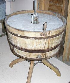 1800s Wooden Washing Maching