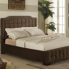 Upholstered Queen Bed at Big Lots.