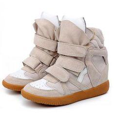 Isabel Marant Bekket High-top Suede Sneaker White Ivory - Isabel Marant Sneakers