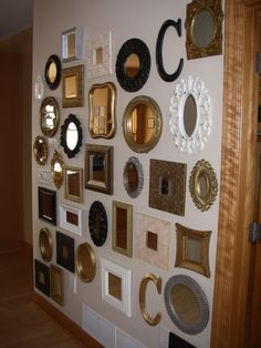 Wall Of Mirrors one day i will have a wall of mirrors | for the home | pinterest