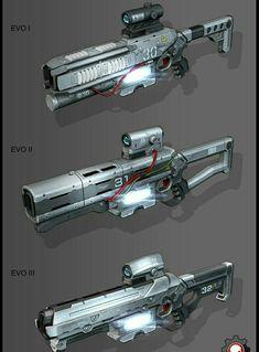 """""""Reaper"""" Gauss Rifle"""