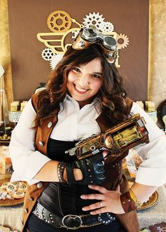 Stopping Time – Forever Thirty-Nine Steampunk Birthday Party