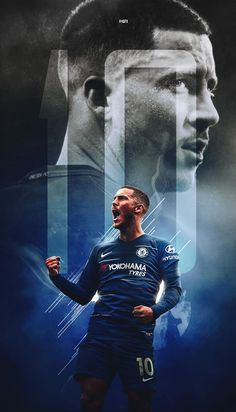 Android & iPhone Lock Screen HD Wallpaper for Football Lover Football Players Images, Best Football Players, Soccer Players, Chelsea Football Club, Chelsea Fc, Eden Hazard Wallpapers, Hazard Real Madrid, Chelsea Wallpapers, Eden Hazard Chelsea