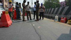 மீண்டும் சாலையில் திடீர் விரிசல்! #AnnaSalai #India #Metro #Yaalaruvi #யாழருவி http://www.yaalaruvi.com/archives/23051