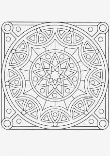 Mandala Coloring Pages Do you Looking for a Mandala Coloring Pages ? Mandala C. Pattern Coloring Pages, Mandala Coloring Pages, Coloring Book Pages, Printable Coloring Pages, Coloring Sheets, Mandala Pattern, Mandala Colour, Doodle Art, Quilts