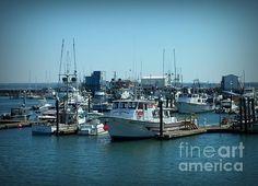 A Sunny Nautical Day Artist Chalet Roome-Rigdon MediumPhotograph - Photography  DescriptionWestport Marina, WA.  FAA watermark will NOT appear on artwork purchases.