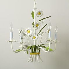 Whoopsie Daisy Chandelier - simply adorable ! Makes me do this :)