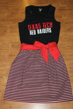 Texas Tech Game Day Dress