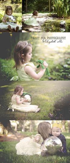 The Princess and the Frog. Fairy Tale Photo Shoot. Sweet Pea Photography. Norwalk, OH