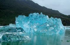 チリ : サン ラファエル氷河                                                       …