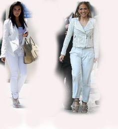 white outfit, Kim Kardashian VS Jennifer Lopez (JLo) fashion diva who-wore-it-better celeb celebrity