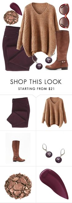 """""""🍷🍷🍷"""" by avagoldworks ❤ liked on Polyvore featuring Express, Urban Decay, Lipstick Queen, Salvatore Ferragamo and avagoldworks"""