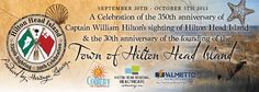 Hilton Head Island | 350th Sighting and 30th Celebration | Discovered 1663 — Named 1983