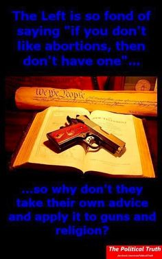 Yes, why don't they? An American without a gun is a dead American, never ever forget that.