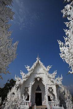 Wat Rongkhun, Chiangrai, Thailand