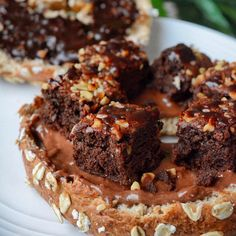 Brownie bagels  . @dr_zaks_ltd cinnamon raisin bagel from @MuscleFoodUK topped with choco spread a @grazedotcom brownie and @sweetfreedomuk #ChocShot  . I've done quite a lot of writing this morning and went for a nice walk! Usual plans for later in terms of it being leg day so getting my mind in gear for a good session  . Sometimes it does feel like all I do is eat school (train some days) repeat however I'm doing my best to enjoy other less structural things too like going to friends'…