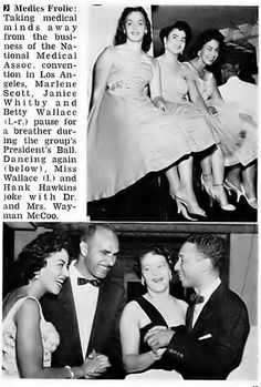 Dr and Mrs. Wayman McCoo - Marilyn McCoos (of the 5th Dimension Group) Parents - Jet Magazine September 1, 1955 by vieilles_annonces, via Flickr. -He Was My Doctor and a very Humble Man!