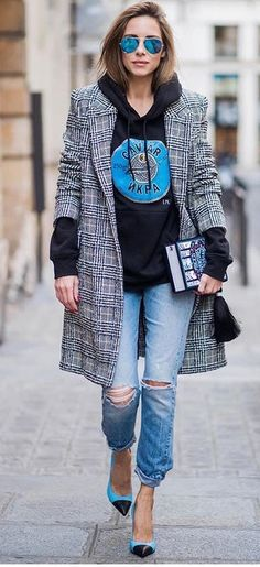 Love this fall inspired street style chic outfit!,...