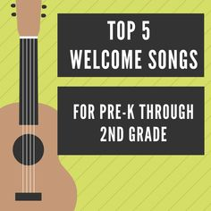 Top 5 Welcome Songs for Pre-k through - Simple Music Teaching Kindergarten Music Lessons, Elementary Music Lessons, Preschool Music, Music Activities, Teaching Music, Elementary Library, Singing Lessons, Singing Tips, Preschool Learning