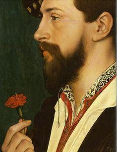 Hans Holbein: Portrait of Simon George, 1536