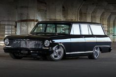 Scott and Cody Ellis' 1963 Chevy II Nova wagon had 63,000 miles on the clock and was all original right down to its six-cylinder engine and Powerglide trans