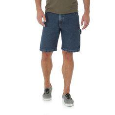 Wrangler Men's Wrangler® Denim Carpenter Shorts (Size: 38x12) Dark Blue