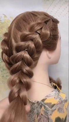 Bun Hairstyles For Long Hair, Braids For Long Hair, 1800s Hairstyles, Soccer Hairstyles, Steampunk Hairstyles, Medieval Hairstyles, Kawaii Hairstyles, Braided Ponytail Hairstyles, Cute Girls Hairstyles