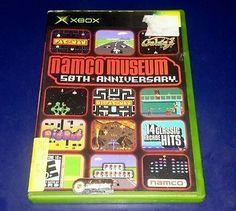 Namco Museum 50th Anniversary (Microsoft Xbox, 2005)