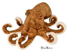 "Wild Republic Cuddlekins Minis 8"" Octopus Plush Soft Toy Cuddly Teddy 10872 #ebay #Collectibles"