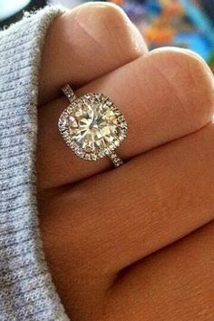 We Dare You Not To Buy These Wedding Engagement Ring Halos