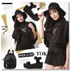 How To Wear Pack and Go Tokyo Outfit Idea 2017 - Fashion Trends Ready To Wear For Plus Size, Curvy Women Over 20, 30, 40, 50