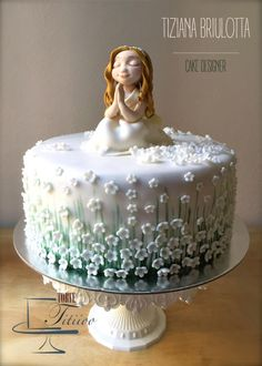 The first communion of Giulia - Cake by Torte Titiioo