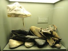 Victim's shoes.  oklahoma city national memorial and museum