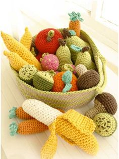 Tutti Frutti amigurumi crochet pattern