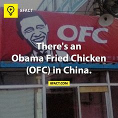 Obama Fried Chicken......Now I've seen everything.