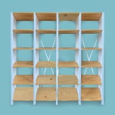 Solid NZ pine, adjustable shelving by Lundia Kitchen Interior, Shelves, Funiture, Bookcase, Cube Storage, Storage, Adjustable Shelving, Storage Solutions, Shelving