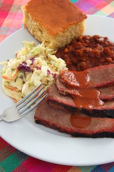Texas-Style Barbecued Brisket & Perfect Barbecue Sauce - The Heritage Cook ®