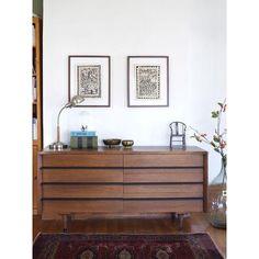 Image of American of Martinsville Mid-Century Dresser