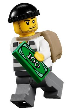 lego city minifigures | LEGO Accessories - CRIMINAL 01 #7279 [LEGO City] MINIFIGURE & LEGO ...
