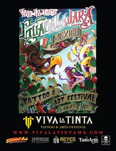 1º Viva La Tinta Tattoo Festival   Tattoo Filter