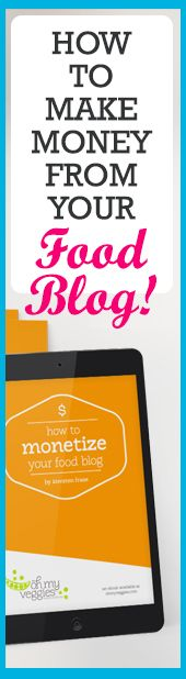 How to Make Money from Your Food Blog | Expert blogging advice from Kiersten Frase of Oh My Veggies fame. Kiersten is a full-time blogger who has learnt all the in and outs of generating income from her blogging passion. She shares all the tips, advice, and strategies you need to do to turn your food blogging dreams into reality! - Personal Review: 4.5/5 stars.