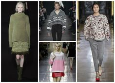 Chunky Jumpers from Autumn/Winter 14-15 Knitwear Trends - LoveKnitting blog