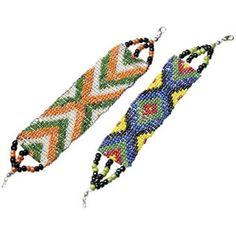 Seed Bead Bracelets  http://www.hobbycraft.co.uk/Pages/Ideas/Idea.aspx?id=1081
