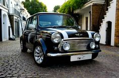 MINI COOPER SPORTS LE (One of a Limited Run of 100 Cars) (1998) Classic Mini, Classic Cars, Mini Cooper Sport, Spot Lights, Mini Countryman, Mini Coopers, Mini Mini, Mini Things, Love Car