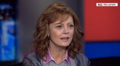 In an interview with Chris Hayes last night, Susan Sarandon did a beautiful thing.  Not only did she refuse to play along with a dominant mainstream media narrative, she artfully deconstructed a …